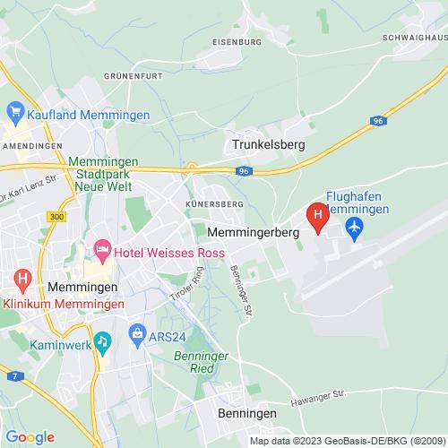 Map Of Germany Memmingen.Fmm Hostel In Memmingen